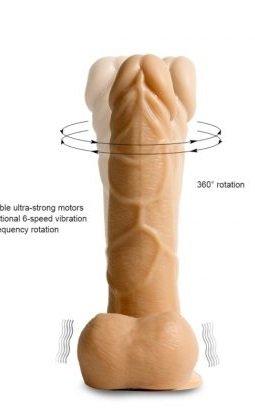 Super  Vibrating Cock (Rotador) 16cm.